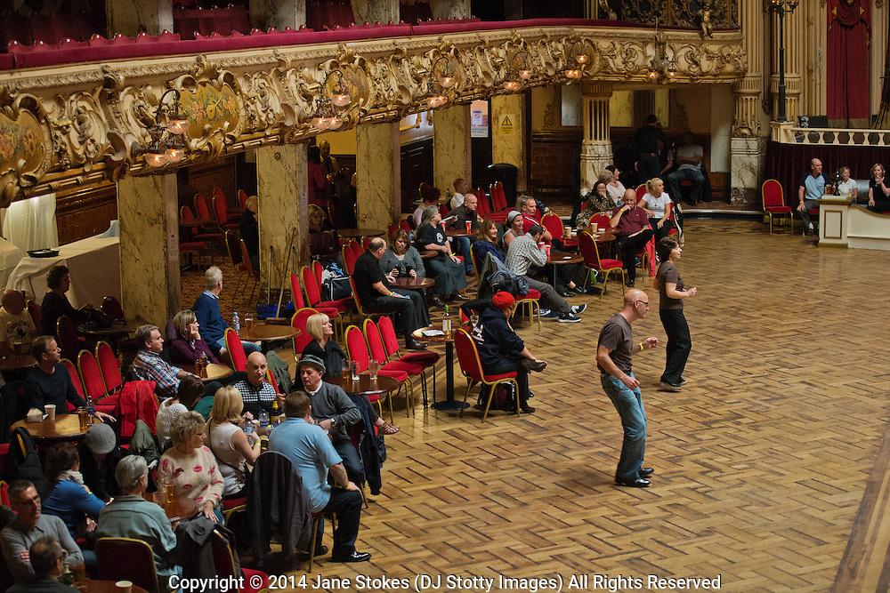 Northern Soul Weekender Blackpool Tower Ballroom 7-9 November 2014