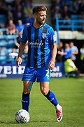 Gillingham FC defender Luke O'Neill (2) during the EFL Sky Bet League 1 match between Gillingham and Coventry City at the MEMS Priestfield Stadium, Gillingham, England on 25 August 2018.