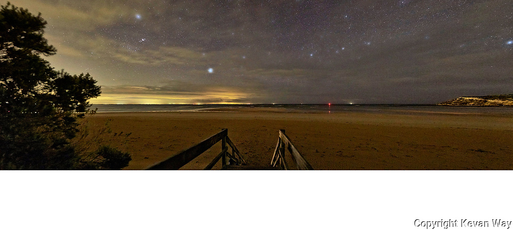 stars over Barwon Rivermouth