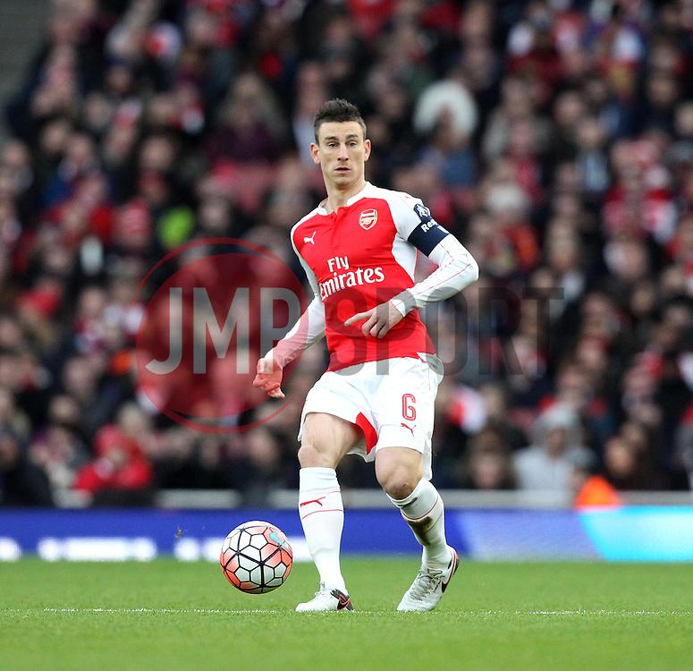 Laurent Koscielny of Arsenal - Mandatory byline: Robbie Stephenson/JMP - 30/01/2016 - FOOTBALL - Emirates Stadium - London, England - Arsenal v Burnley - FA Cup Forth Round