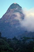 Sri Lanka.<br />The sacred mountain, Sri Pada, or Adams Peak