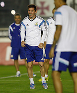 Lionel Messi (captain) of Argentina looks on during the Argentina training session at the Est&aacute;dio S&atilde;o Janu&aacute;rio, Rio de Janeiro, ahead of tomorrow's World Cup Final.<br /> Picture by Andrew Tobin/Focus Images Ltd +44 7710 761829<br /> 12/07/2014