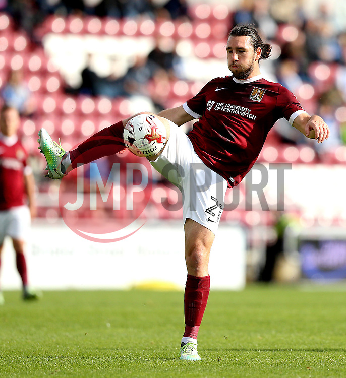 John-Joe O'Toole of Northampton Town passes the ball - Mandatory by-line: Robbie Stephenson/JMP - 01/10/2016 - FOOTBALL - Sixfields Stadium - Northampton, England - Northampton Town v Bristol Rovers - Sky Bet League One