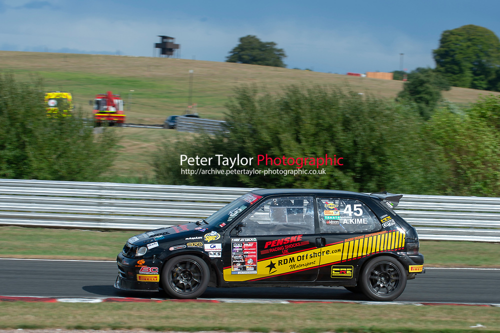 #45 Andrew KIME Citroen Saxo - RDM Offshore Motorsport  during 2018 MSA Time Attack Championship - FastR Clubman / Pocket Rocket / Classic & Retro  as part of the Time Attack - Round 4 - Oulton Park  at Oulton Park, Little Budworth, Cheshire, United Kingdom. July 28 2018. World Copyright Peter Taylor/PSP. Copy of publication required for printed pictures.
