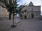 The asymmetric facade of the seventeenth century Palazzo Lanfranchi, Matera, Italy. &copy; Carlo Cerchioli<br /> <br /> La facciata asimmetrica del seicentesco Palazzo Lanfranchi, Matera, Italia.
