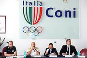 DESCRIZIONE : Roma Coni Conferenza Stampa Nazionale Italia Under 18 Maschile Basket On Board sulla portaerei Cavour<br /> GIOCATORE : Andrea Capobianco De Giorgi Petrucci Rava Meneghin<br /> CATEGORIA : curiosita ritratto<br /> SQUADRA : Fip <br /> EVENTO : Conferenza Stampa Nazionale Italia Under 18<br /> GARA : <br /> DATA : 09/07/2012 <br />  SPORT : Pallacanestro<br />  AUTORE : Agenzia Ciamillo-Castoria/GiulioCiamillo<br />  Galleria : FIP Nazionali 2012<br />  Fotonotizia : Roma Coni Conferenza Stampa Nazionale Italia Under 18 Maschile Basket On Board sulla portaerei Cavour<br />  Predefinita :
