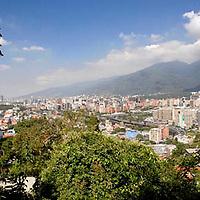 Vista del valle de Caracas y el cerro Ell Avila, Distrito Federal, Venezuela