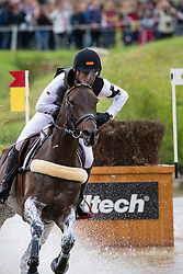 Michael Jung, (GER), Fischerrocana FST - Eventing Cross - Alltech FEI World Equestrian Games™ 2014 - Normandy, France.<br /> © Hippo Foto Team - Leanjo De Koster