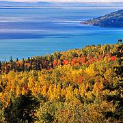Fall colors.Charlevoix. Quebec, Canada.