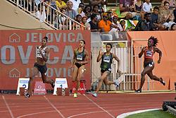 July 20, 2018 - Monaco - 400 metres dames - Floria Guei  (Credit Image: © Panoramic via ZUMA Press)