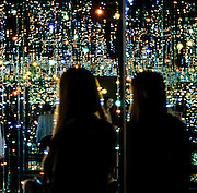 Infinity Mirrors -The Souls of Millions of Light Years Away, Yayoi Kusama: Infinity Mirrors Exhibit at the Hirshhorn, Washington DC 2017.
