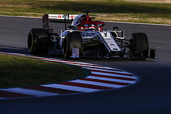 February 18, 2019 - Barcelona, Barcelona, Spain - Kimi Raikkonen from Finland with 07 Alfa Romeo Racing in action during the Formula 1 2019 Pre-Season Tests at Circuit de Barcelona - Catalunya in Montmelo, Spain on February 18. (Credit Image: © Xavier Bonilla/NurPhoto via ZUMA Press)