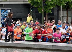 26-04-2015 NED: We Run 2 Change Diabetes NY 2015, Arnhem<br /> We run to change diabetes, training op de halve marathon van Madrid met de groep hardlopers van Novo Nordisk Spanje die op 1 november 2015 hun grenzen gaan verleggen in de marathon van New York / Petra