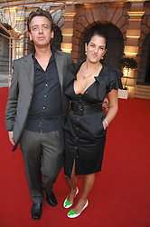 TRACEY EMIN and SCOTT DOUGLAS at the Royal Academy of Art Summer Exhibition Preview Party on 4th June 2008.<br />