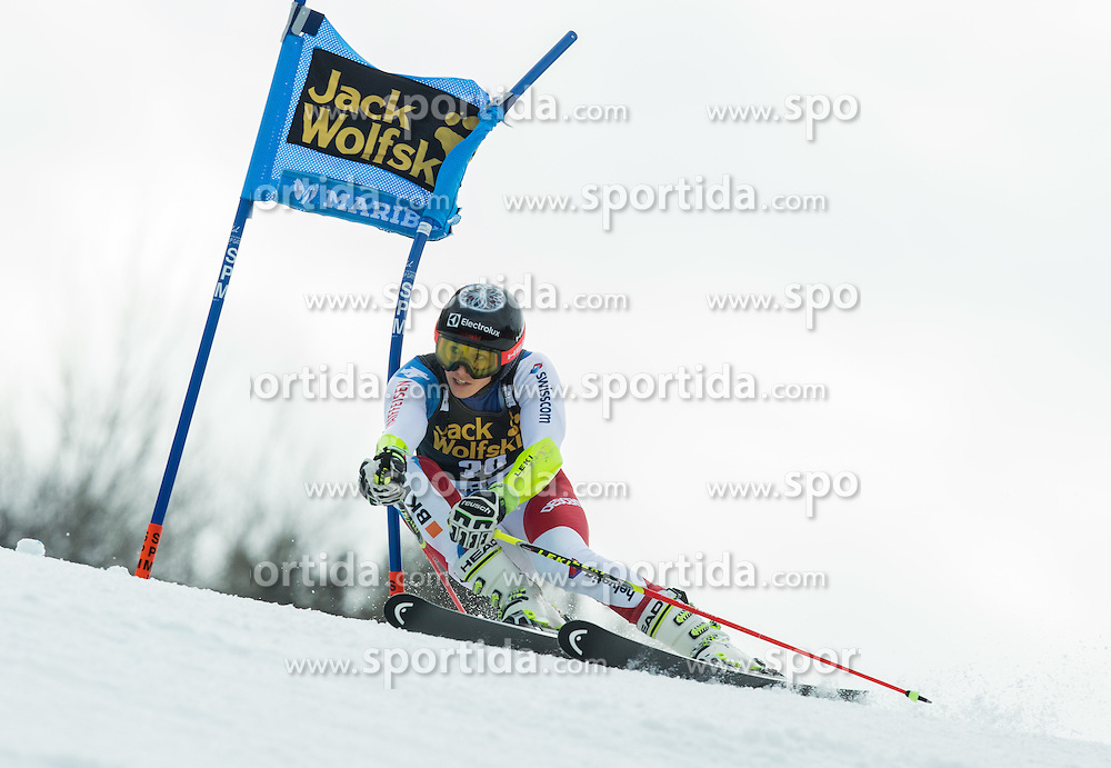 Wendy Holdener (SUI) competes during 7th Ladies' Giant slalom at 52nd Golden Fox - Maribor of Audi FIS Ski World Cup 2015/16, on January 30, 2016 in Pohorje, Maribor, Slovenia. Photo by Vid Ponikvar / Sportida