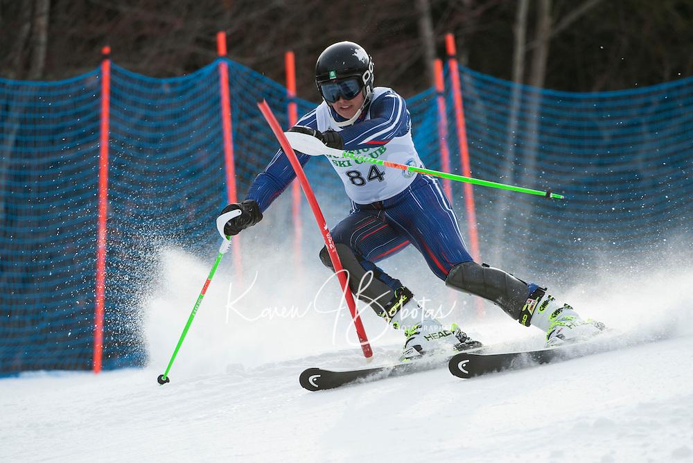 GSC Tecnica Cup Slalom 2nd run February 1, 2014.  ©2014 Karen Bobotas Photographer