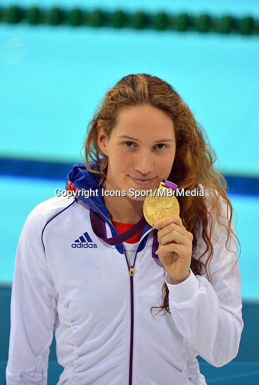 Camille MUFFAT - 400m NL finale - 29.07.2012 - Aquatics Centre - Jeux Olympiques Londres 2012<br />