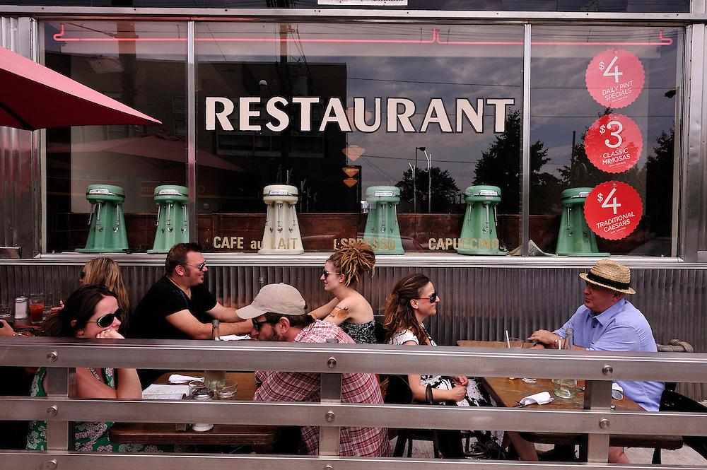 Lakeview Restaurant, Toronto, Ontario, Canada,