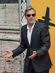 George Clooney arrives at The Space cinema for the photo call of the Sky Tv Catch-22 which sees him in triple role as producer, director and actor. 13 May 2019 Pictured: George Clooney. Photo credit: MEGA TheMegaAgency.com +1 888 505 6342