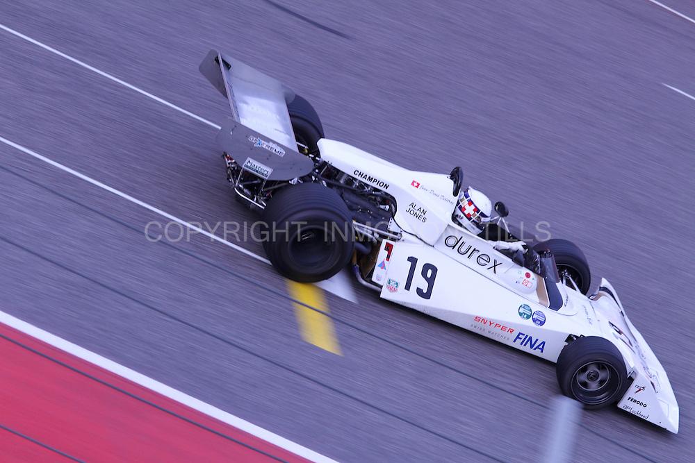 Masters Historic Formula One Race Series COTA 2015 Race