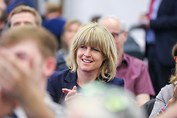 © Licensed to London News Pictures. 30/04/2019. London, UK. Rachel Johnson (Boris Johnson's sister) at the Change UK's People's Vote Remain rally for the European Elections, in Westminster. Photo credit: Dinendra Haria/LNP