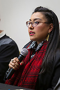 Marcela Garcia speaks during the Cap Times Idea Fest 2018 at the Pyle Center in Madison, Wisconsin, Saturday, Sept. 29, 2018.