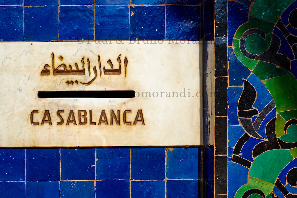 Maroc, Casablanca, la Poste, 1918, architecte Adrien Laforgue // Morocco, Casablanca, Post Office, 1918, Adrien Laforgue architect
