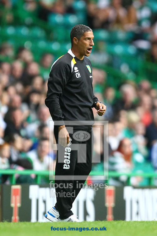 Picture by Paul Chesterton/Focus Images Ltd +44 7904 640267.24/07/2012.Norwich Manager Chris Hughton during the Friendly match at Celtic Park, Glasgow.