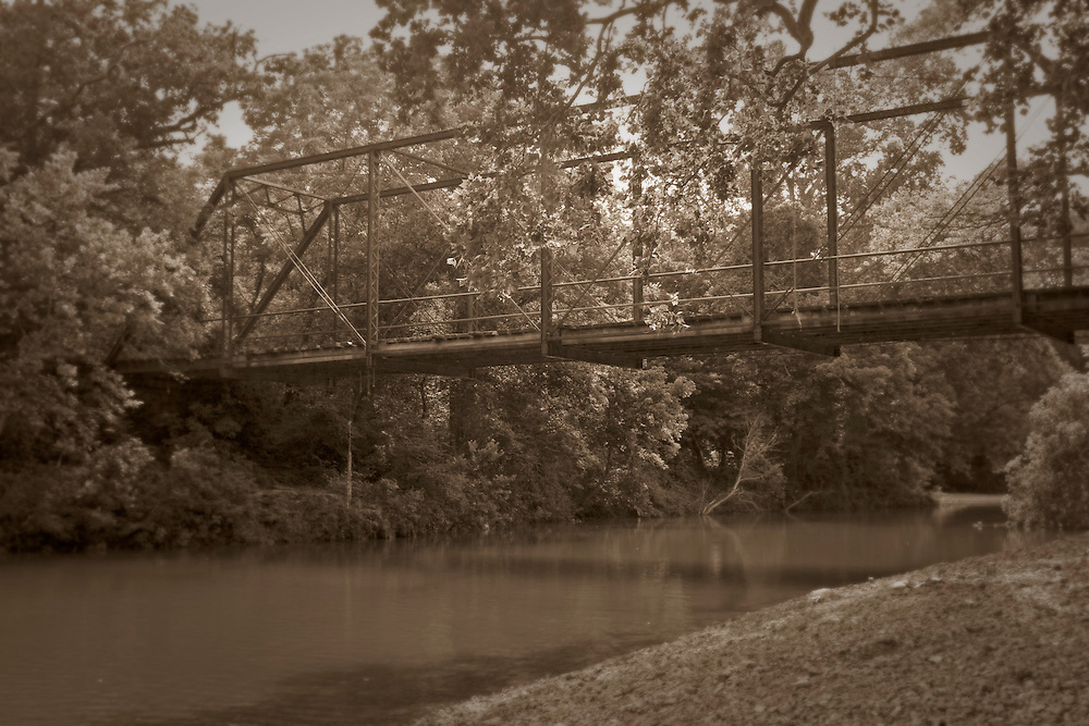 Jenkins bridge over Flat creek.