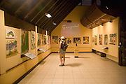 Paul Gauguin Cultural Center, Atuona, Hiva Oa, Marquesas, French Polynesia<br />