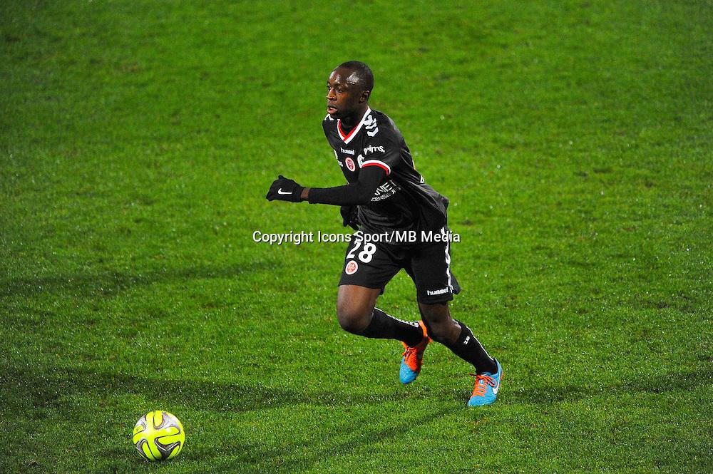 Antoine CONTE  - 04.12.2014 - Lyon / Reims - 16eme journee de Ligue 1  <br /> Photo : Jean Paul Thomas / Icon Sport
