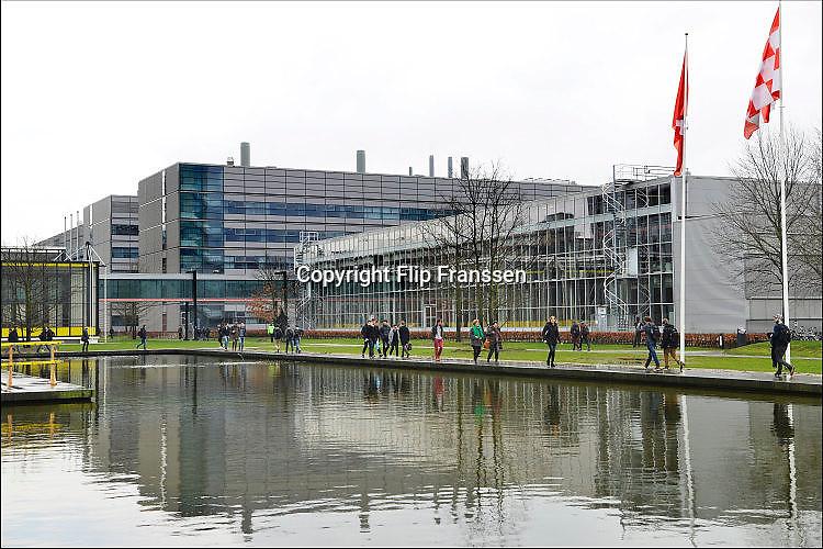 Nederland, Eindhoven, 7-3-2017Gebouwen op de campus van de technische universiteit, tu, t.u. TU/e. Foto: Flip Franssen