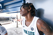 THOUSAND OAKS, CA Sunday, August 12, 2018 - Nike Basketball Academy. CJ Walker 2019 #16 of Orlando Christian Prep after the game. <br /> NOTE TO USER: Mandatory Copyright Notice: Photo by Jon Lopez / Nike