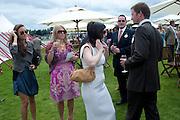 ANNA MATHEWS; kiera parks; Rupert Penry Jones; Dervla Kirwan, Cartier International Polo Day at the Guards Polo Club. Windsor. July 26  2009