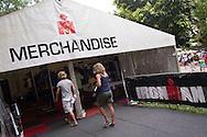 Merchandise tent. Saturday. 2013 Ironman Cairns Triathlon Festival. Cairns, Queensland, Australia. 08/06/2013. Photo By Lucas Wroe
