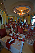 Emirates Palace Hotel. 7 Star luxury, state-owned and managed by Kempinski. Anar Persian restaurant.