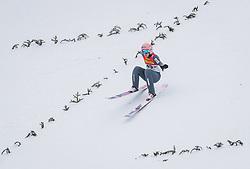 16.02.2020, Kulm, Bad Mitterndorf, AUT, FIS Ski Flug Weltcup, Kulm, Herren, 1. Wertungsdurchgang, im Bild Dawid Kubacki (POL) // Dawid Kubacki of Poland during his 1st Competition Jump for the men's FIS Ski Flying World Cup at the Kulm in Bad Mitterndorf, Austria on 2020/02/16. EXPA Pictures © 2020, PhotoCredit: EXPA/ JFK
