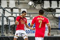 ALKMAAR - 12-09-2017, Jong AZ - Telstar, AFAS Stadion, 2-2, Jong AZ speler Ricardo van Rhijn, Jong AZ speler Dabney Dos Santos