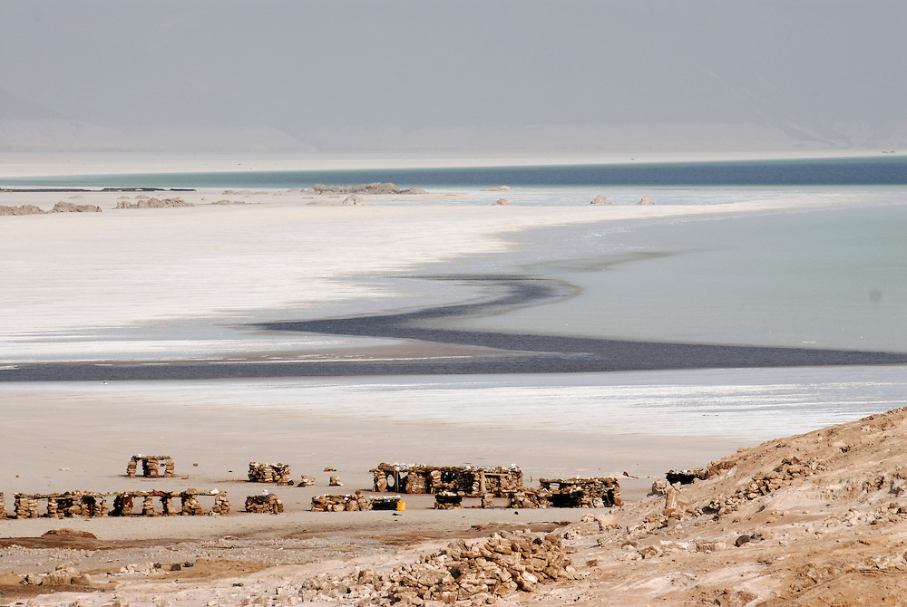 Lake assal most saltiest lake in the world,Djibouti