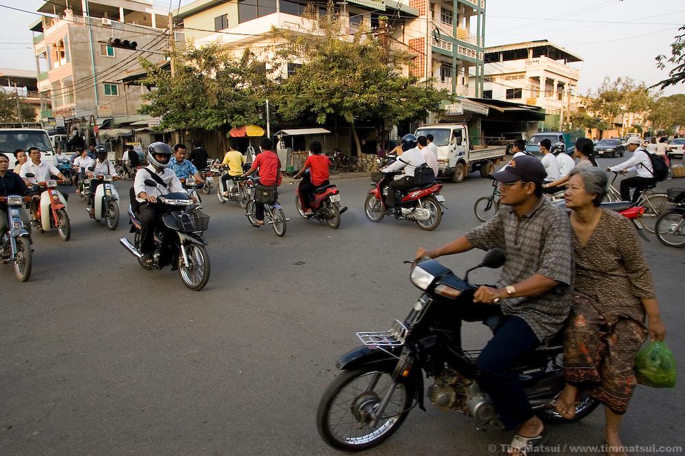 Street scenes, Phnom Penh, Cambodia.