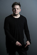 American composer Nico Muhly Portrait at the Barbican in London on 12 February 2015.<br /> <br /> <br /> Photos by Ki Price