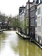 Canal in Utrecht, Holland