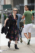 Aug. 3, 2014 - New York, NY, USA - August 3, <br /> <br /> Cate Blanchett New York<br /> <br /> Cate Blanchett heads into a rehearsal for 'The Maids' in New York City on August 3, 2014 <br /> ©Exclusivepix