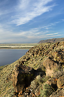 Warner Lakes Wetlands from Hart Mountain, Hart Mountain National Antelope Refuge Oregon