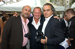 Left to right, RICHARD YOUNG, GARY FARROW  and DAVE BENETT at The Summer Ball in Berkeley Square , Londin W1 in aid of the Prince's Trust on 6th July 2006.<br /><br />NON EXCLUSIVE - WORLD RIGHTS