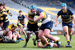 Joe Richardson of Worcester Warriors U18 - Mandatory by-line: Robbie Stephenson/JMP - 28/12/2019 - RUGBY - Sixways Stadium - Worcester, England - Worcester Warriors U18 v Wasps U18 - Premiership U18 Academy