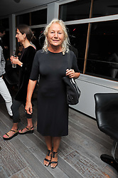 Designer Agnes B (Agns Trouble) at a dinner in honour of artist Ryan McGinley hosted by Alison Jacques to mark the occasion of his UK debut show 'Moonmilk' held at Paramount, Level 31, Centre Point, 103 New Oxford Street, London WC1 on 10th September 2009.<br /> Designer Agnes B (Agnès Trouble) at a dinner in honour of artist Ryan McGinley hosted by Alison Jacques to mark the occasion of his UK debut show 'Moonmilk' held at Paramount, Level 31, Centre Point, 103 New Oxford Street, London WC1 on 10th September 2009.