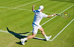 LONDON, ENGLAND - Tuesday, June 23, 2009: Nicolas Kiefer (GER) during his Gentlemen's Singles 1st Round match on day two of the Wimbledon Lawn Tennis Championships at the All England Lawn Tennis and Croquet Club. (Pic by David Rawcliffe/Propaganda)