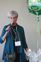 The Comer Children&rsquo;s Hospital Service League&rsquo;s annul Irish Coffee benefit and silent raffle was held this past Saturday at Augustana Lutheran Church located at 5500 S. Woodlawn.<br /> <br /> 0942 - Irish Coffee Committee member, Leslie Kolkmeier