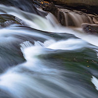 Spillway on the Chattooga River, in the Nantahala National Forest, Highlands, North Carolina
